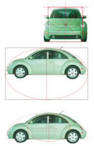 vw analysis front side