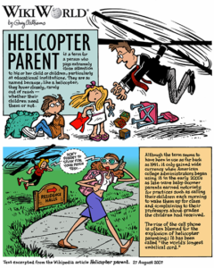 5.3 helicopter parent