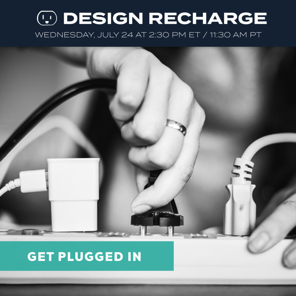 get plugged in, rapid recharge