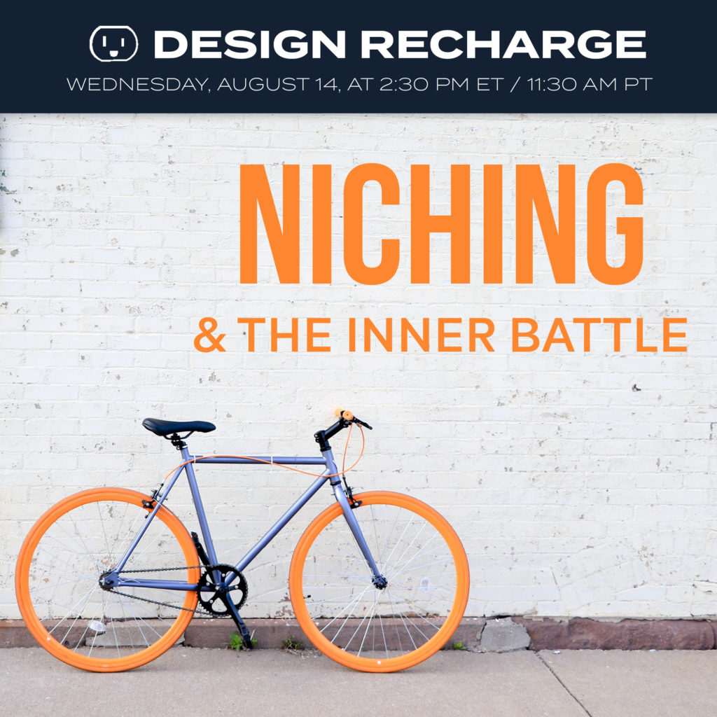 niching, niche, inner battle, negative voice, inner critic, poser